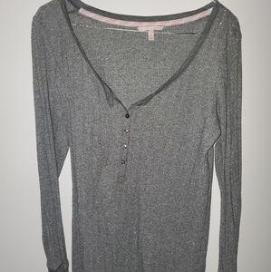 Victoria's secret bed shirt